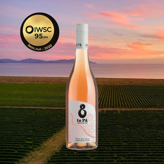 te Pā Pinot Noir Rosé on the world stage